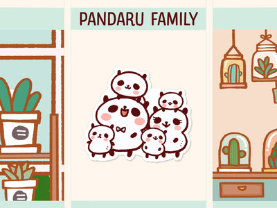 PM059: Panda family (4 children)