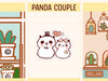 PM063: Panda couple