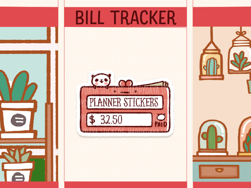 PM065: Bill tracker