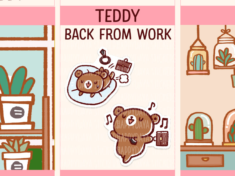 PM072: Teddy - Back from work