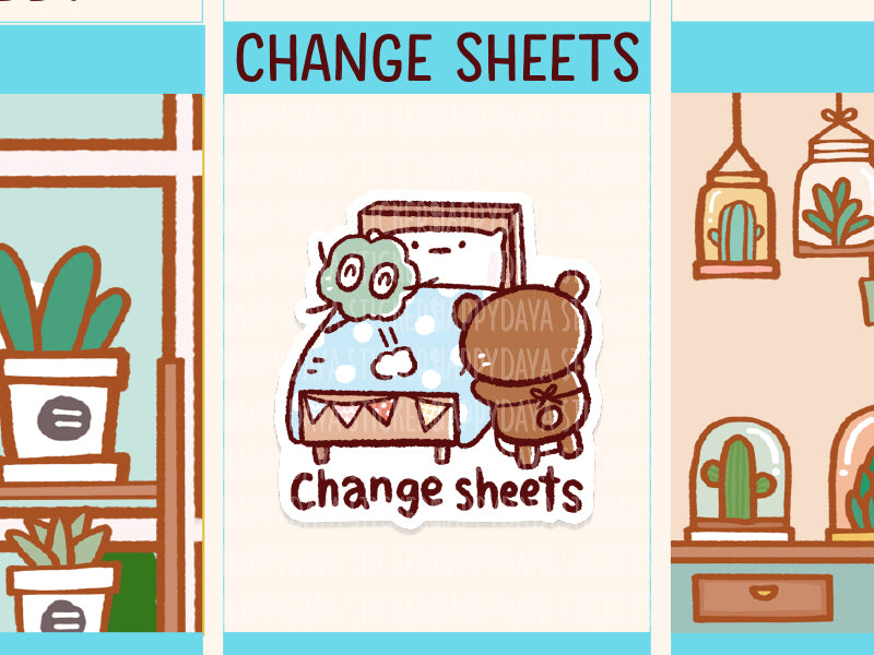 PM073: Teddy - Change sheets