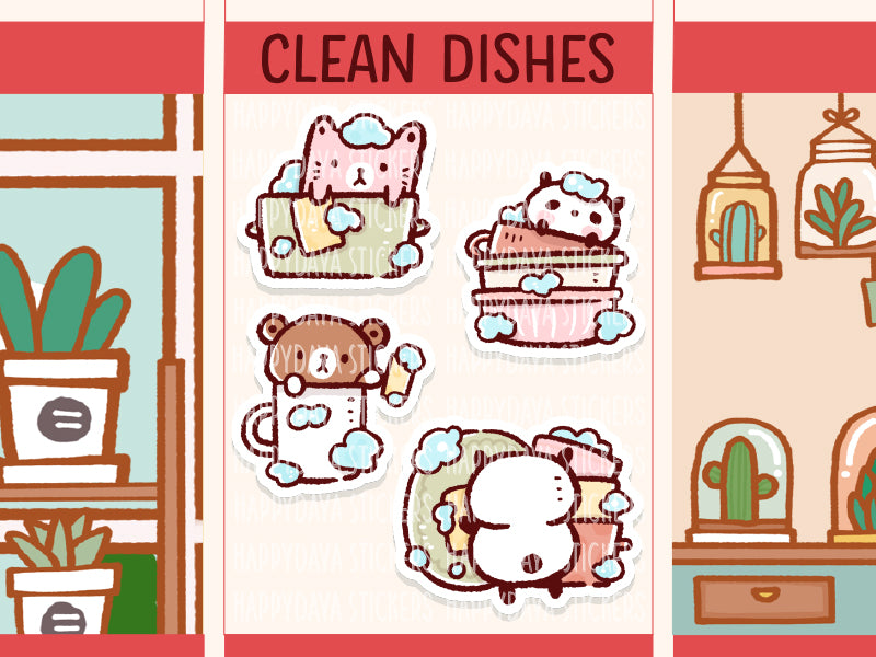 PM101: Clean dishes