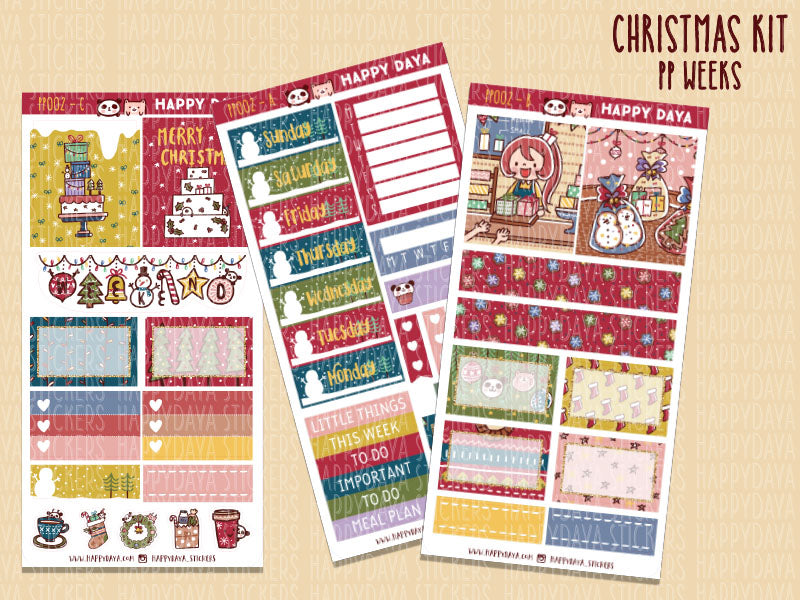 PP002: PP Weeks kit - Christmas