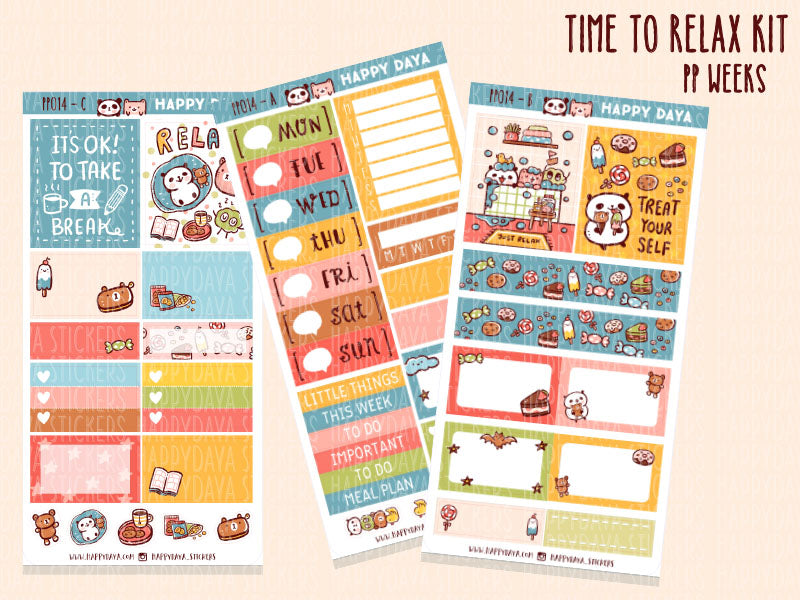 PP014: PP Weeks kit - Time to relax