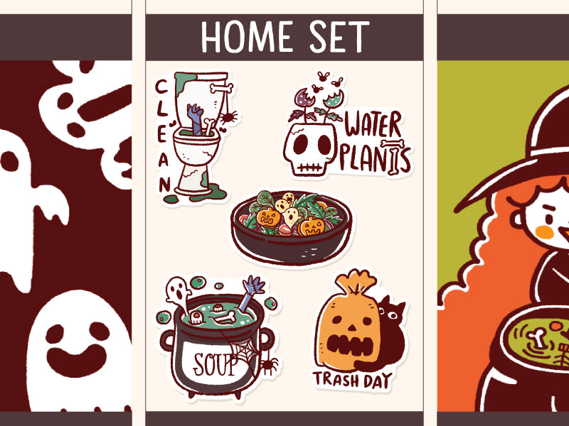 SS006: Halloween Home set