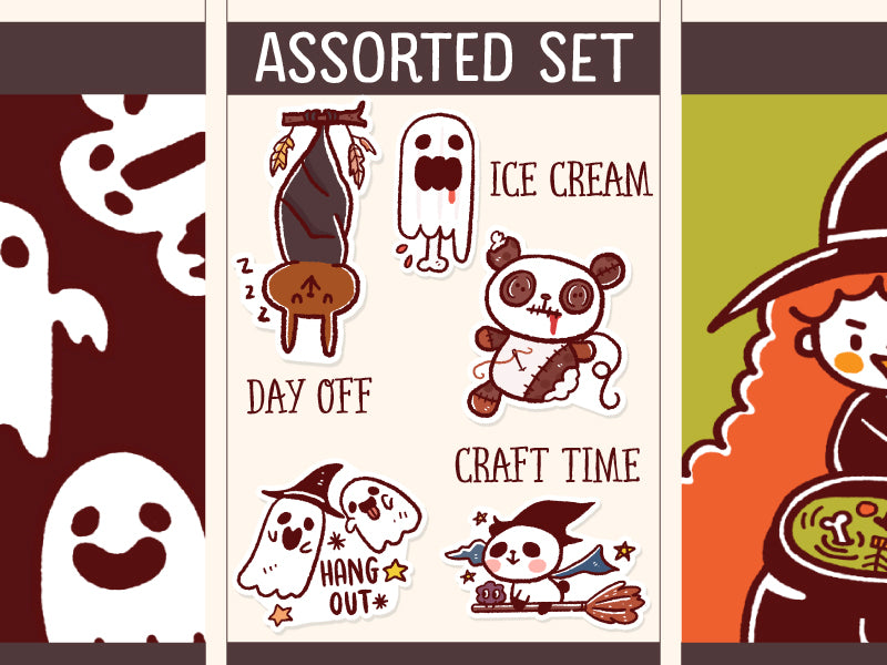 SS007: Halloween Assorted set