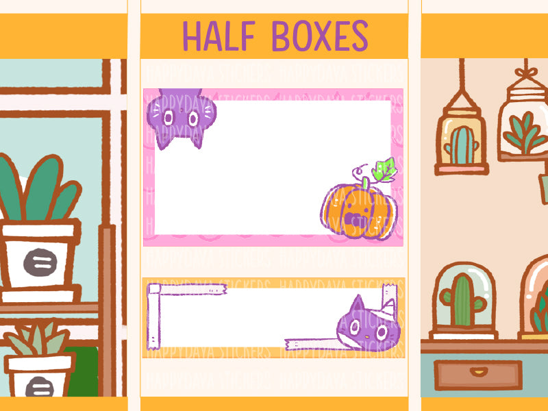 SS023: Halloween 2019 - Half boxes