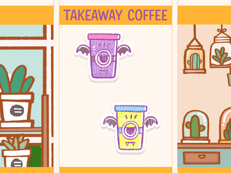 SS025: Halloween 2019 - Coffee takeaway