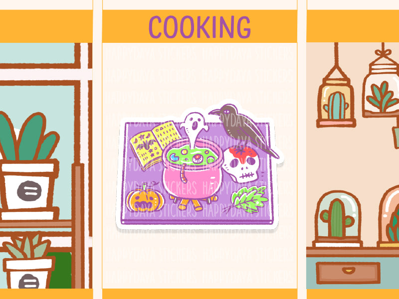 SS033: Halloween 2019 - Cooking