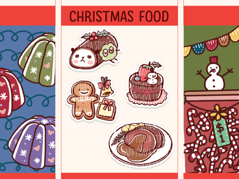 SS048: Christmas 2019 - Food and desserts