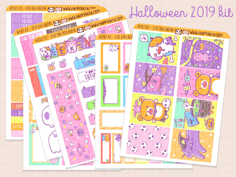 WK013: Halloween kit 2019 (Full kit)