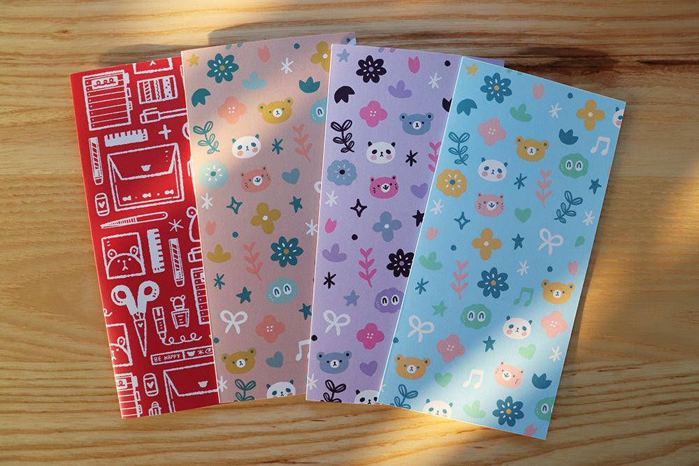 REALBUM01 - Reusable sticker album (Hobonichi Weeks size)