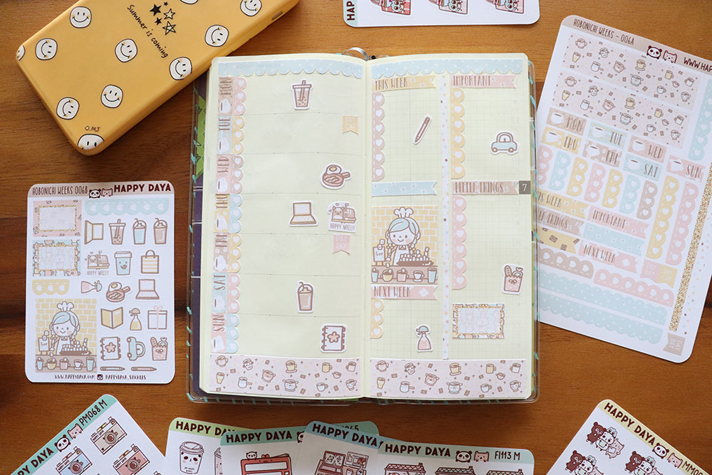 "HW006 - Hobonichi Weeks ""Hot Chocolate"" kit"
