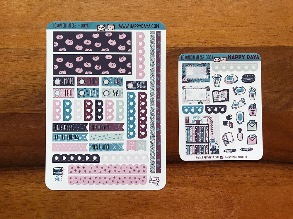 "HW009 - Hobonichi Weeks ""Winter sewing studio"" kit"