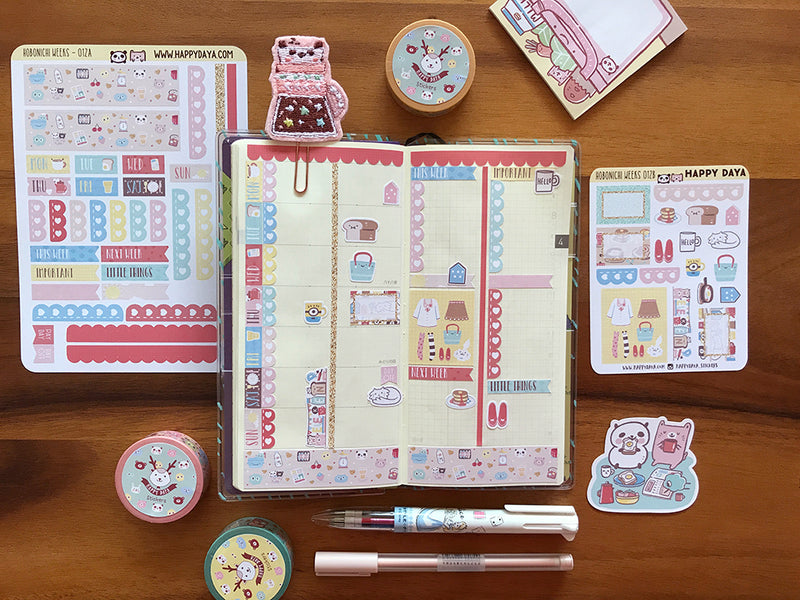 "HW012 - Hobonichi Weeks ""Breakfast"" kit"
