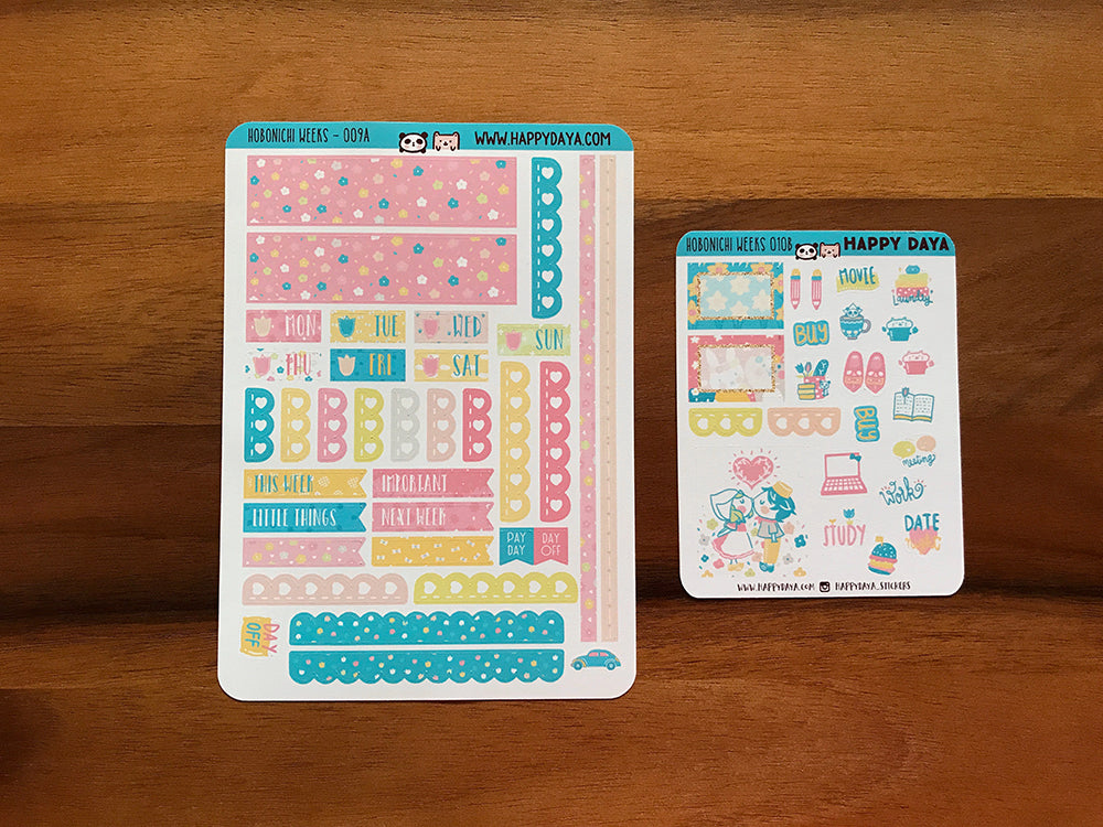 "HW010 - Hobonichi Weeks ""Spring in Holland"" kit"