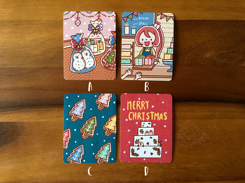 JC007: Christmas journal cards