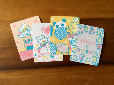 JC010: Spring in Holland journal cards