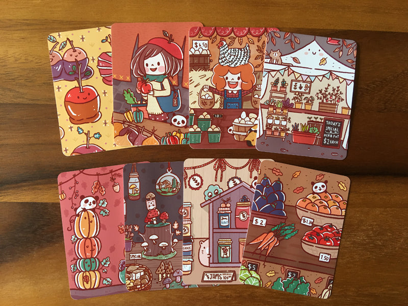 JC011: Farmer's Market journal cards