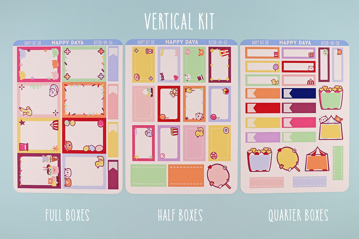 KIT008 (Carnival theme park) : Vertical kit (Full kit)