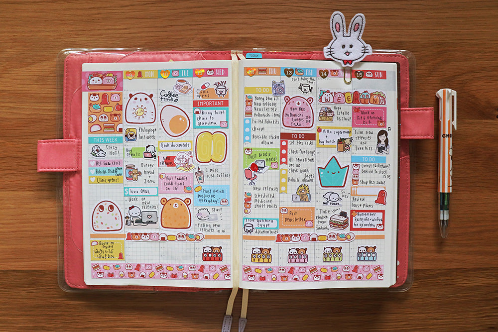 HCW016: Picnic kit (Hobonichi Cousin A5 weekly kit)