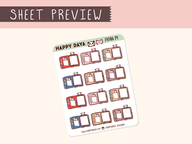 FI086: Planner note sticker