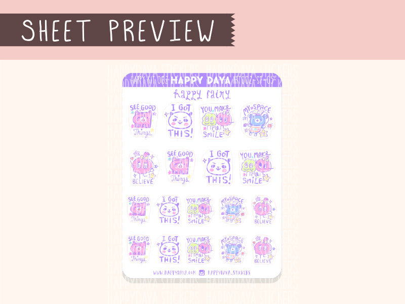 KIT002 (Galaxy) : Happy Fairy (sheet 5)