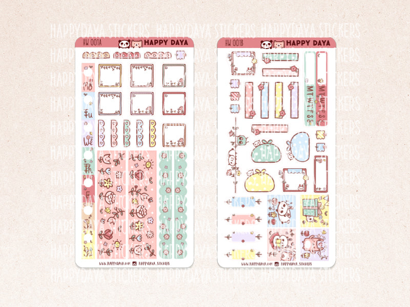 "HW001 - Hobonichi Weeks ""Bunny"" kit"