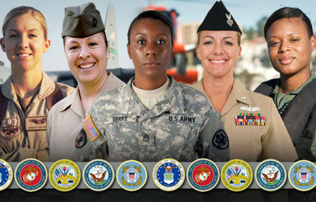 Salute to Women in Uniform on Veterans Day