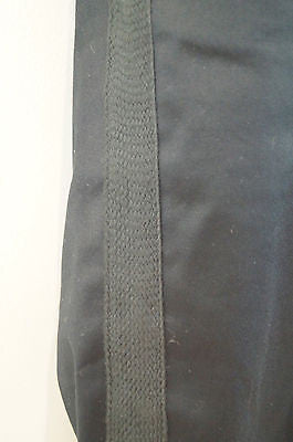 MARC JACOBS Cotton Blend Black Sheen Cropped Capri Trousers Pants US6; UK10