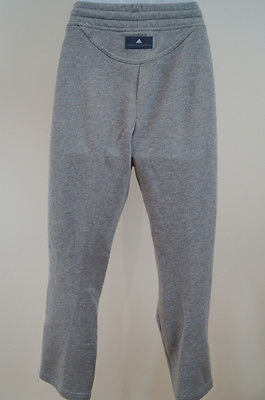 STELLA MCCARTNEY For ADIDAS Grey 100% Cotton Activewear Casual Trousers Pants XS