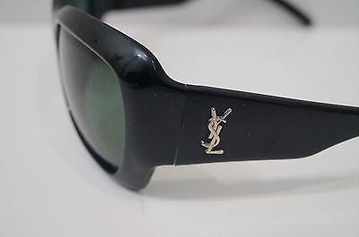 YVES SAINT LAURENT YSL Ladies Black Chunky Frame Sunglasses