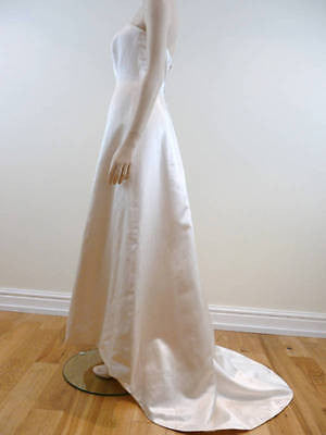 RITVA WESTENIUS Designer Ivory Wedding Dress / Gown & Bolero Cover Up RRP £2800