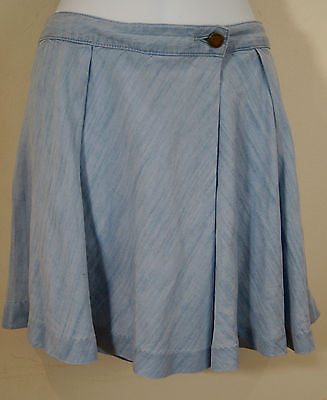 MICHAEL BY MICHAEL KORS Pale Blue Lyocell Summer Shorts Sz4/27 BNWT