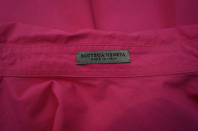 BOTTEGA VENETA Made In Italy Pink Cotton Poplin Blouse Shirt Top EU38 UK10