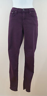RAG & BONE Ladies Burgundy Skinny Leg Leggings Trousers Jeans Sz29