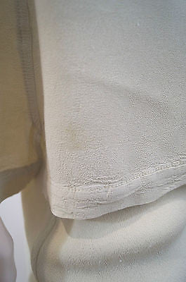 GHOST Made In England Pale Yellow Embroidered Top & Skirt Suit Sz:Petite