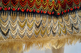 MATTHEW WILLIAMSON ONE OF A KIND Multi Colour Embroidered Beaded A-Line Skirt