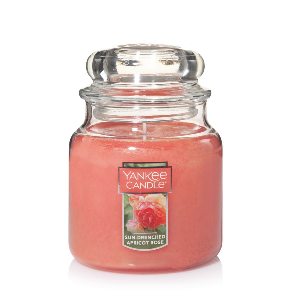 Yankee Candle Sun Drenched Apricot Rose Medium