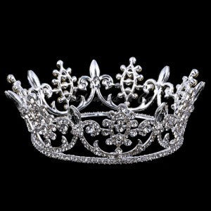 Tiara - Full Crown Silver