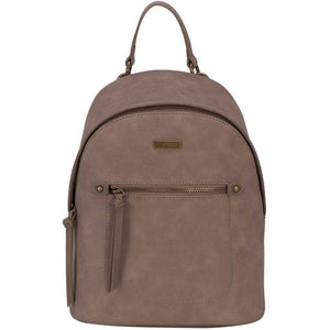 Lydia Plain PU Backpack