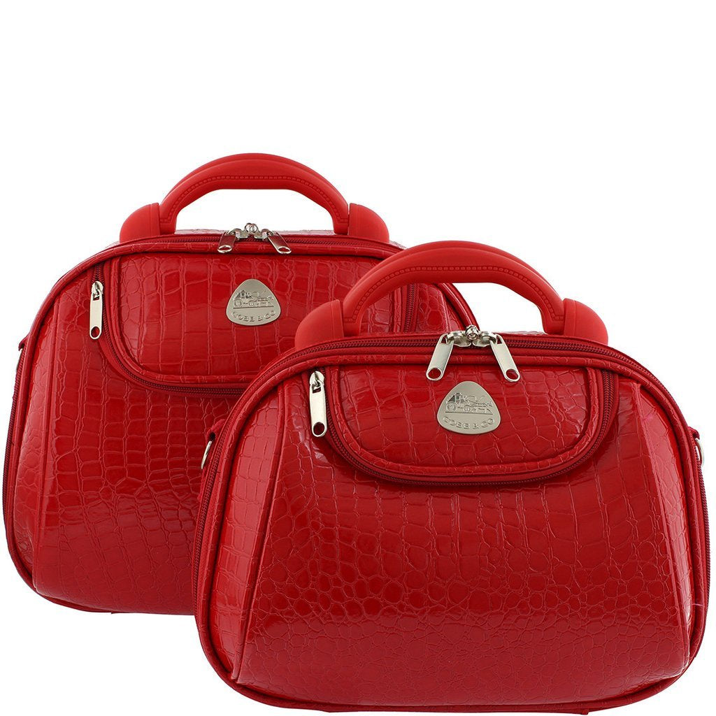 Irwin Croc PU Beauty Case