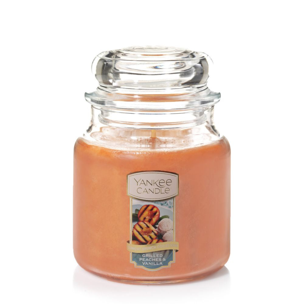 Yankee Candle Grilled Peaches & Vanilla Medium