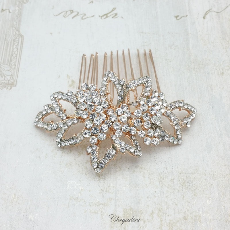 Diamonte Hair Comb RG