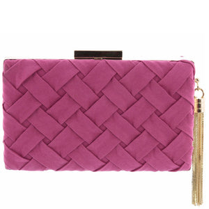 Morgan Polyester Clutch