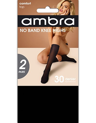 Ambra No Band Knee High 2PP