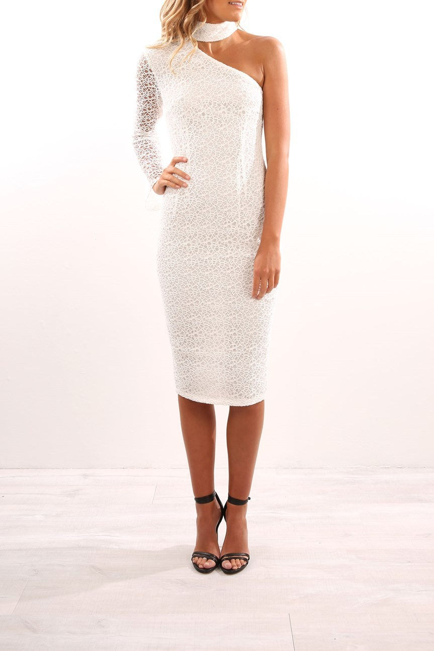 Mercy Dress White