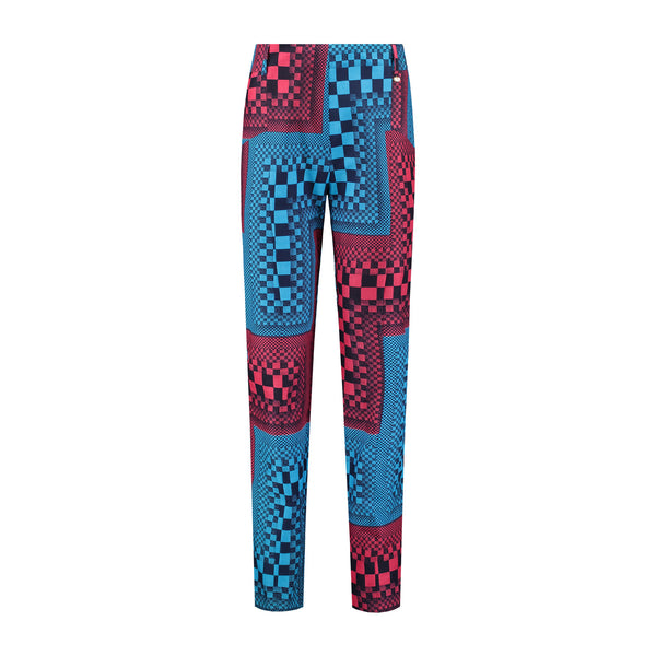 Women's Chino Pants - Blocks