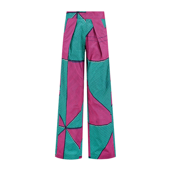 Women's Flared Trousers - Geometry