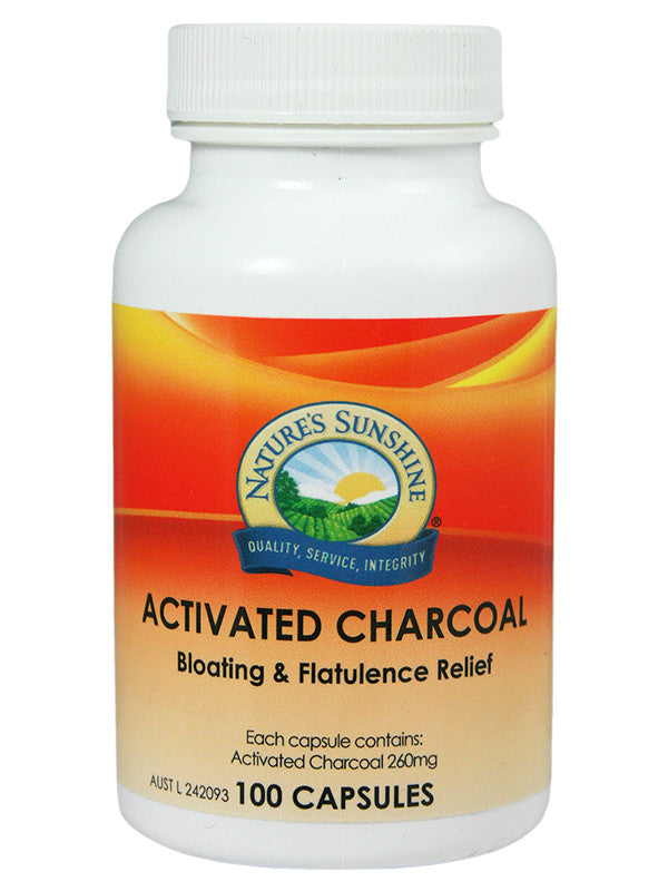 Beat Bloating and wind with Activated Charcoal